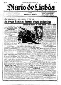 Segunda-feira, 23 de Outubro de 1939