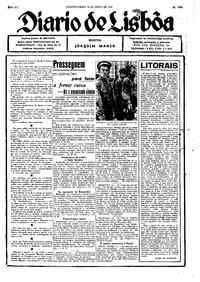 Segunda-feira, 14 de Julho de 1941