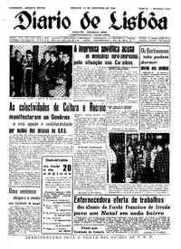 Domingo, 20 de Novembro de 1960