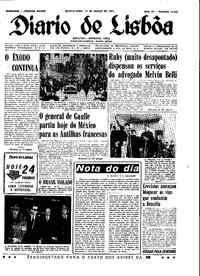 Quinta-feira, 19 de Março de 1964