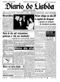 Sábado, 14 de Novembro de 1964