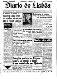 Segunda-feira, 18 de Outubro de 1965
