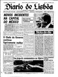 Quarta-feira, 25 de Setembro de 1968