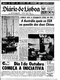 Terça-feira, 21 de Setembro de 1971
