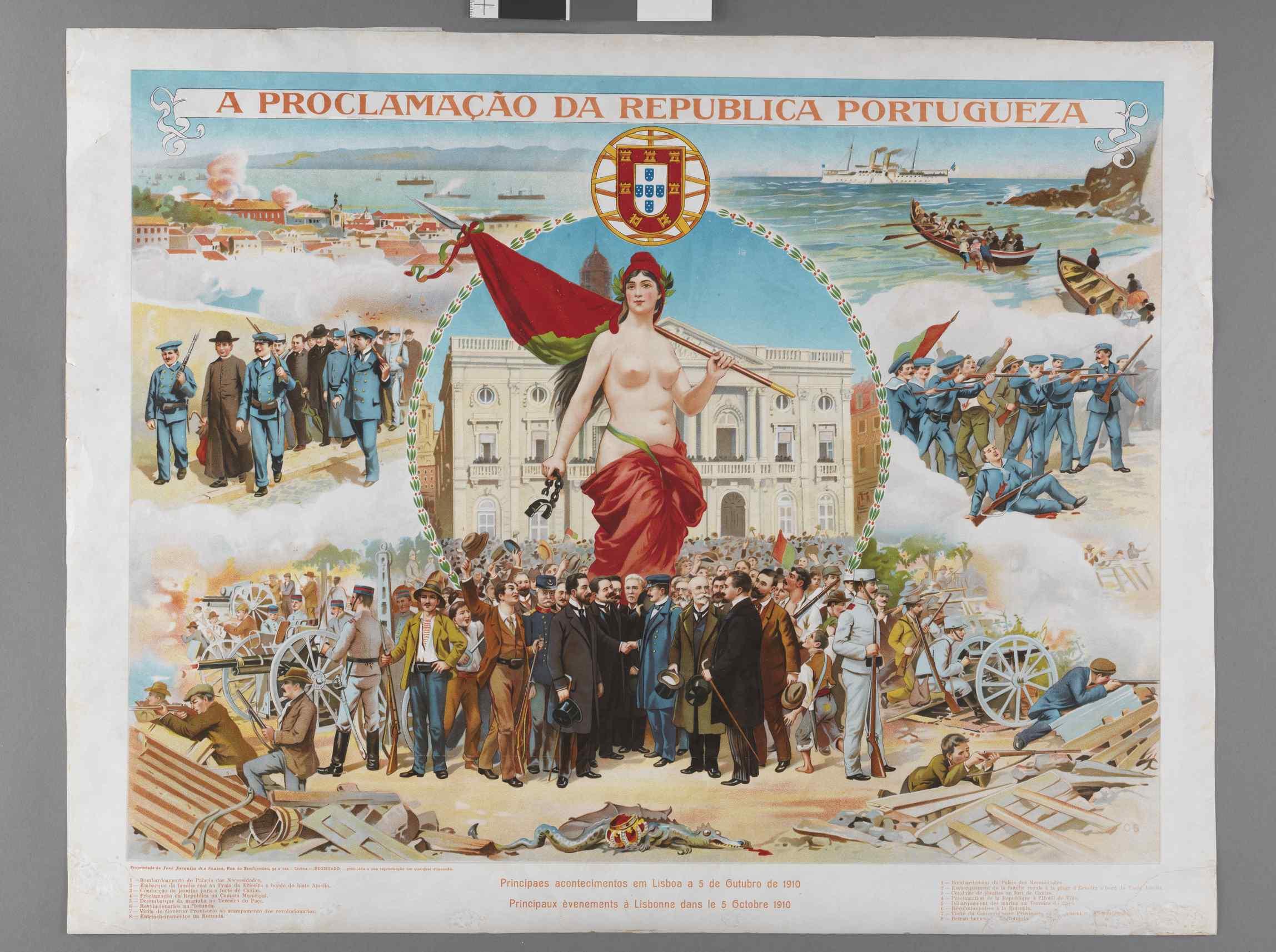 A Revolução Portugueza: O 5 de Outubro (Lisboa 1910) por